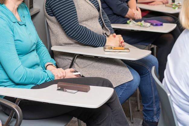 Контуры аудитории бизнес-тренинга