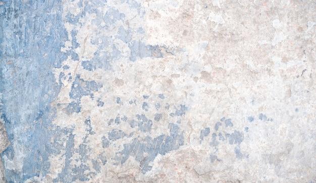 Белый и синий ржавый бетон текстуры фона с пространством для текста или дизайна