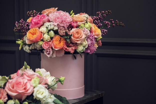 Букет из разных по красоте цветов