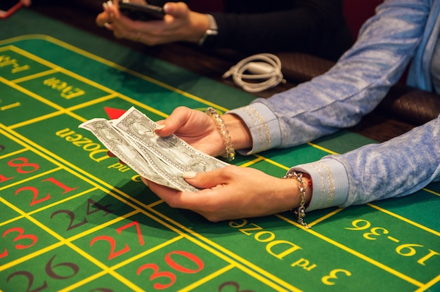 Концепция казино, азартных игр и развлечений