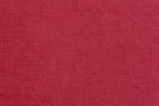 Текстура ткани красного цвета