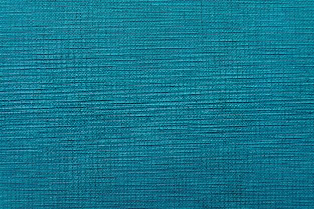 生地の質感の青