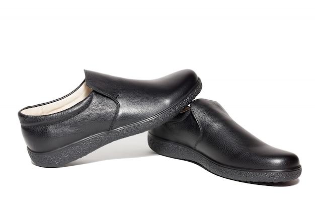 黒人女性の靴