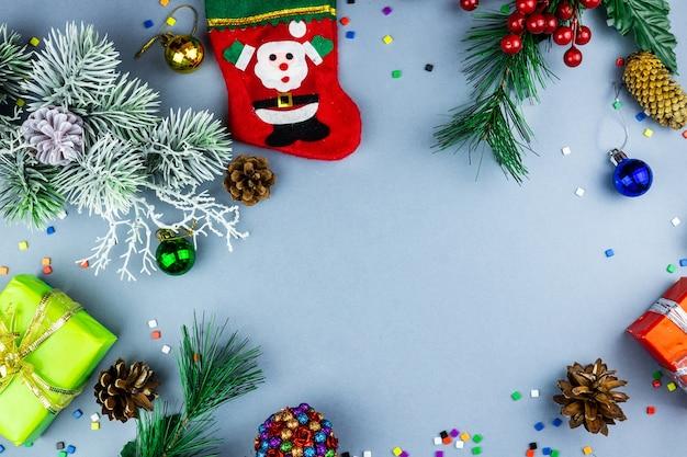 新年とクリスマスのおもちゃ