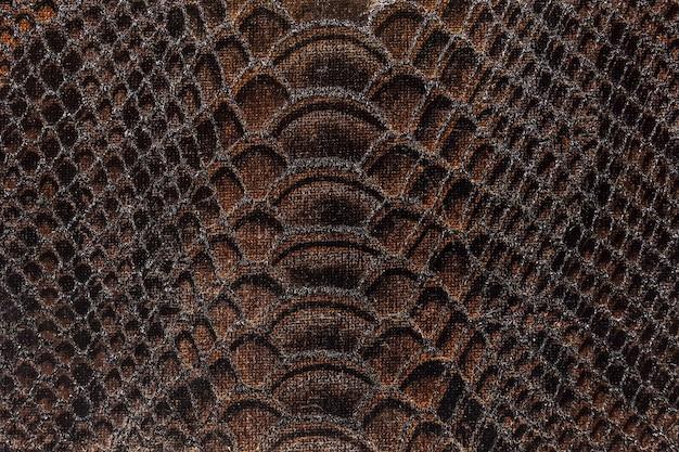 Текстура ткани коричневого цвета