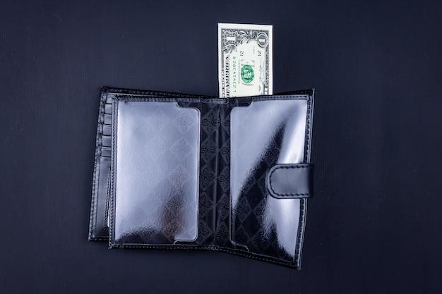 財布にドル箱のトップビュー