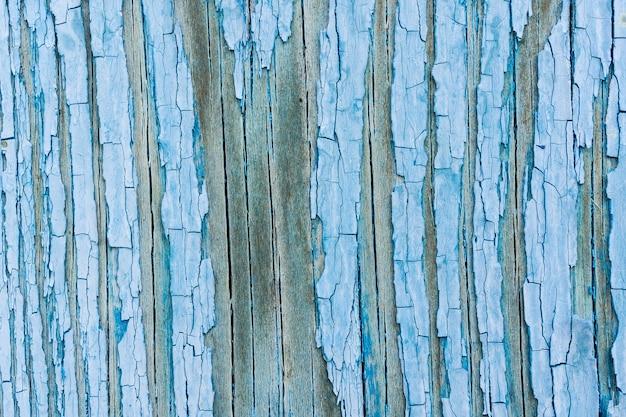 木の板の青いテクスチャの詳細
