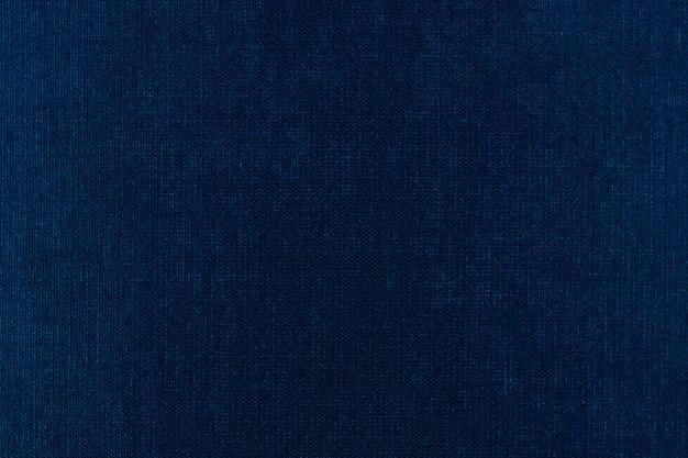 布のテクスチャ背景ブルー