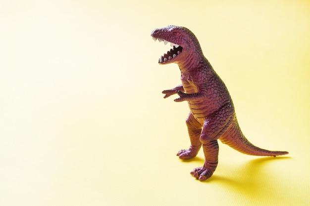 恐竜プラスチック製のゴムのおもちゃ。