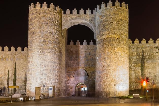 アルカサルの壁の扉