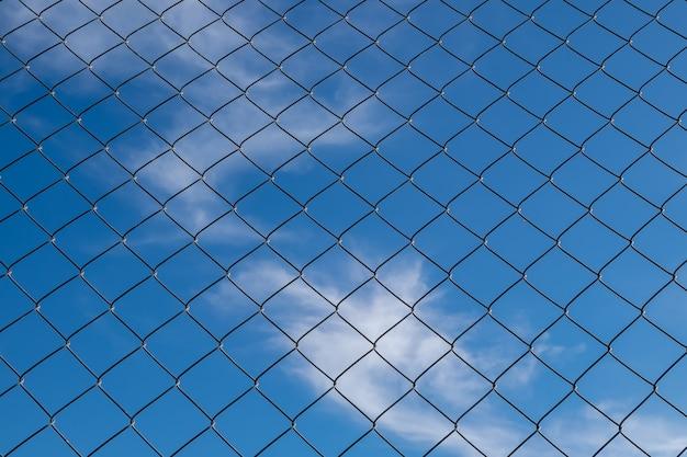 鉄のフェンスの背景