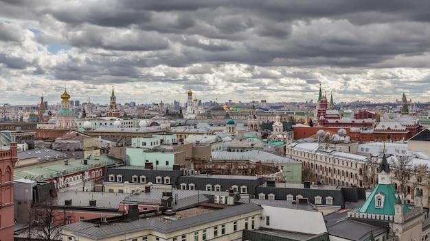 モスクワのパノラマビュー