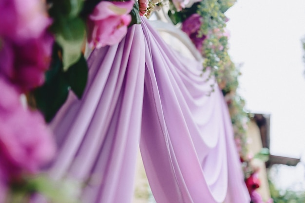 結婚式の装飾、花、宴会や式典での花柄のデザイン