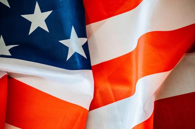 Фон с американским флагом