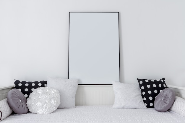 空白の中の画像