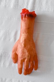 ハロウィーンの手