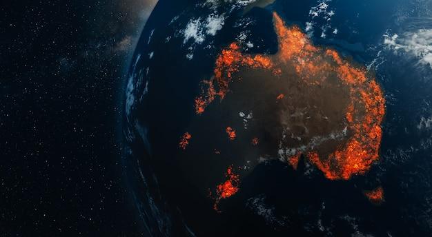 オーストラリアの火災の生態学的災害