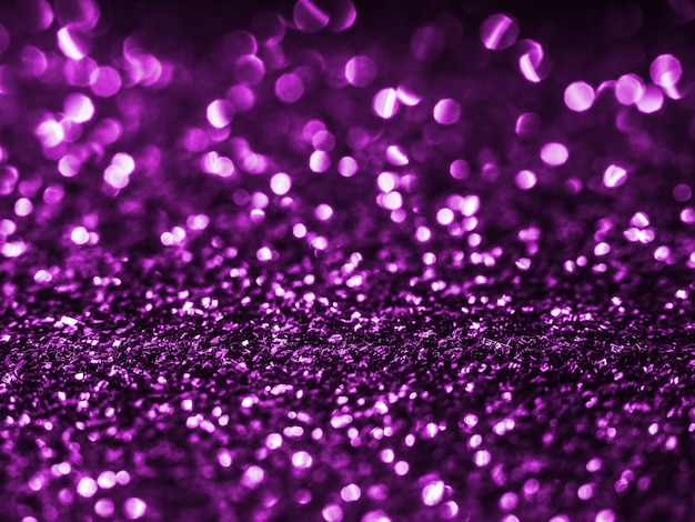 背景のスパンコール。紫色の背景。