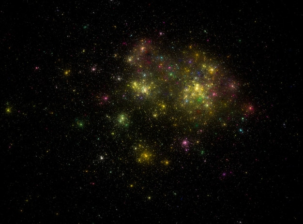 星空宇宙背景テクスチャ