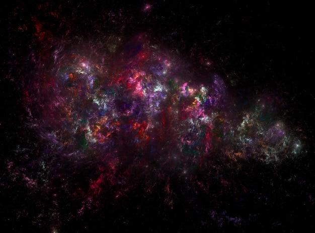 Фоновая текстура звездного космического пространства