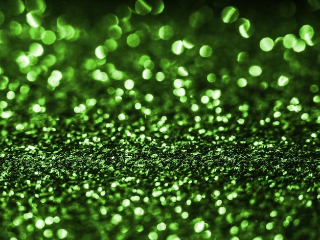 きらびやかな緑の背景