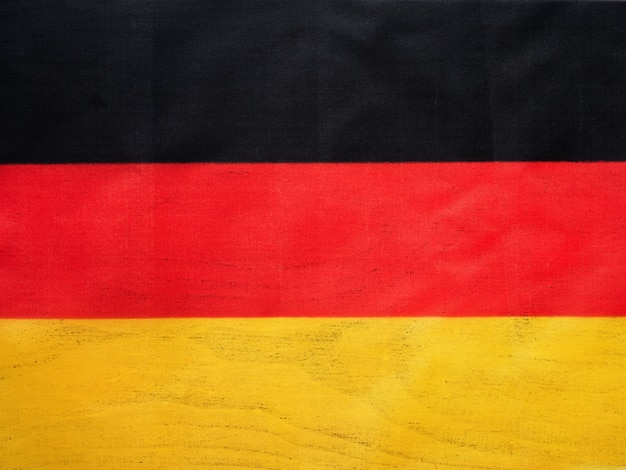 Немецкий флаг. красивая открытка. закрыть