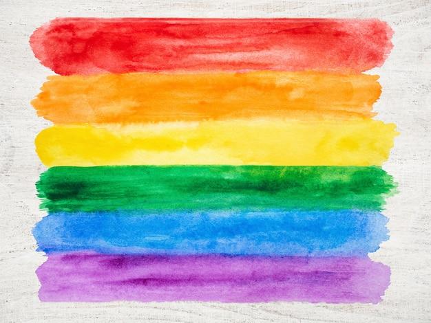 Радужный флаг фон