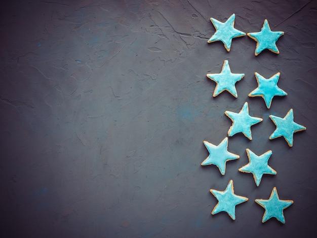 星の形をしたお祝いクッキー