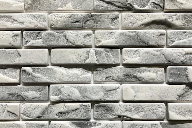 Серая кирпичная стена текстура фон