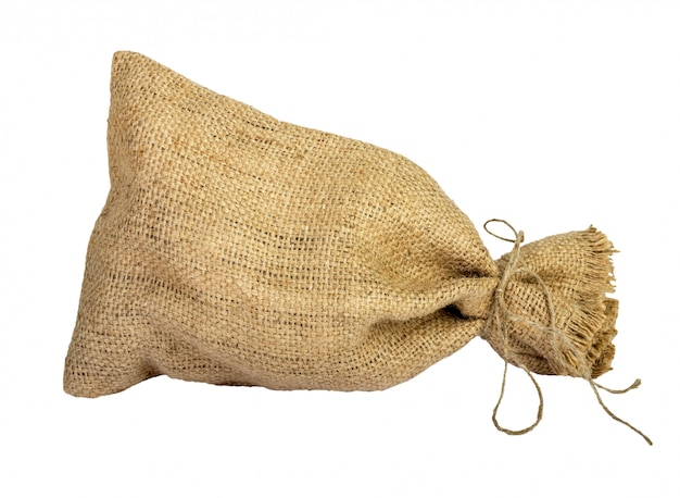 空のスペースが付いている織物の袋