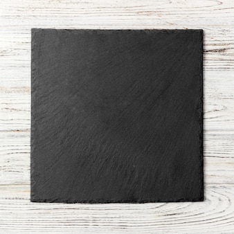 黒い四角いプレート