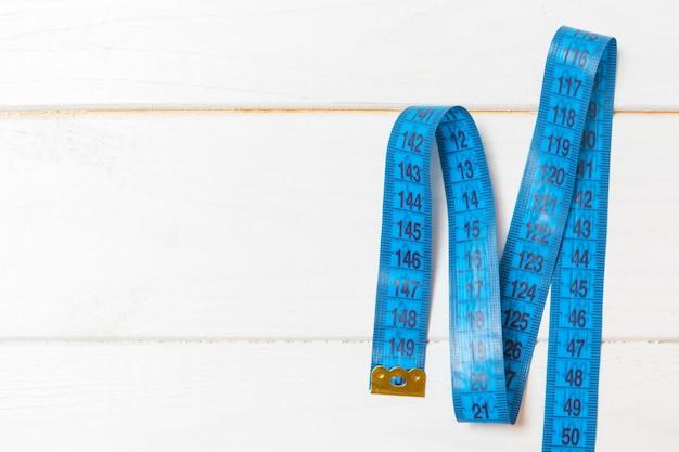 測定テープの平面図