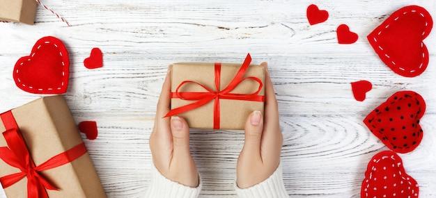 休日の装飾のバレンタインギフト