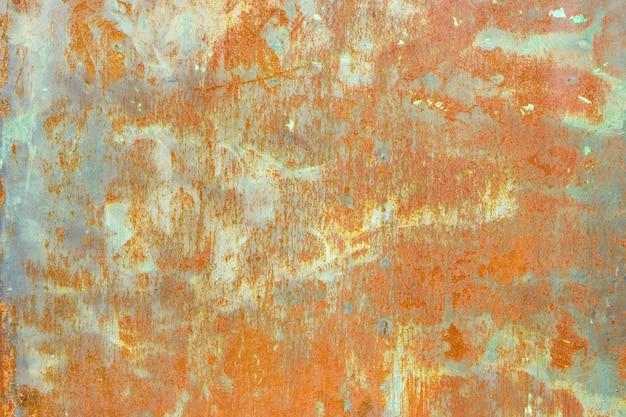Ржавые металлические текстуры. гранж старый стальной фон.