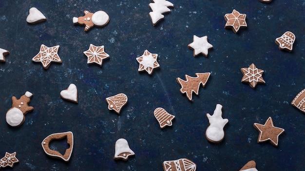 Рождественское домашнее печенье с корицей и имбирем