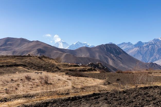 農村景観、ネパール
