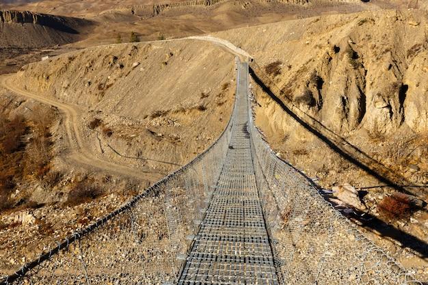 吊り橋、ネパール
