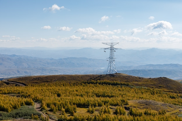 高圧送電鉄塔エネルギーパイロン