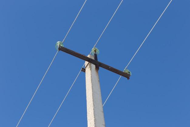 電力線のワイヤ