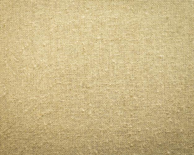 黄麻布のテクスチャ背景。粗い織物材料