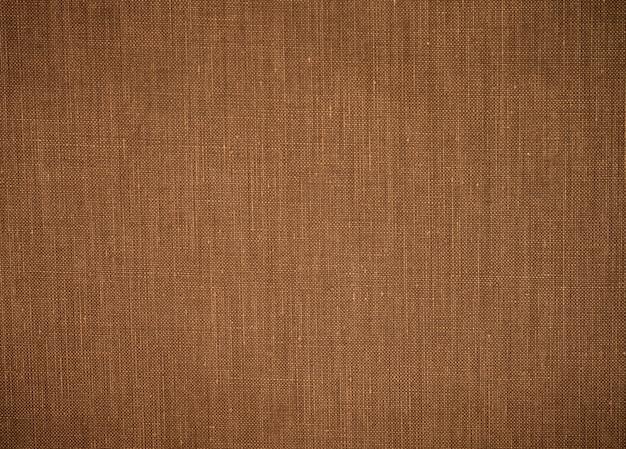 古い布のテクスチャ背景。グランジ黄麻布サッククロス素材。