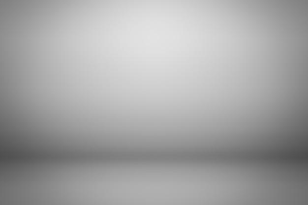 グレーのグラデーションの背景。製品の背景を表示します。