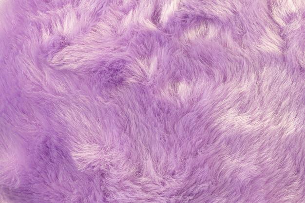 Текстура мохнатого меха фона. деталь материала мягкой волосатой кожи.