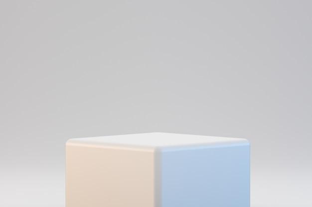 Современный геометрический подиум