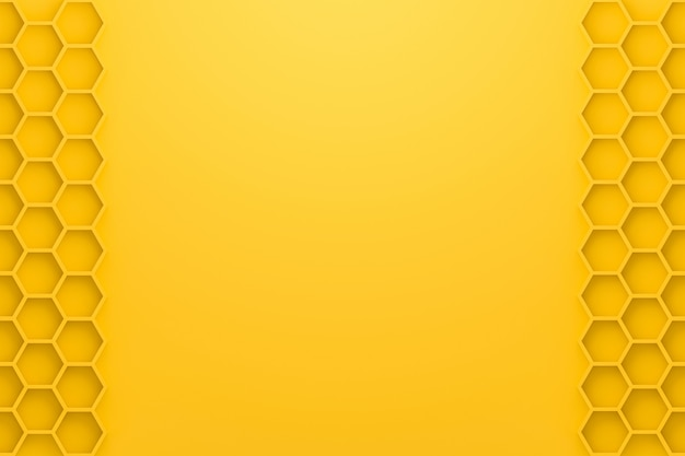 Абстрактная желтая предпосылка с стилем сота.