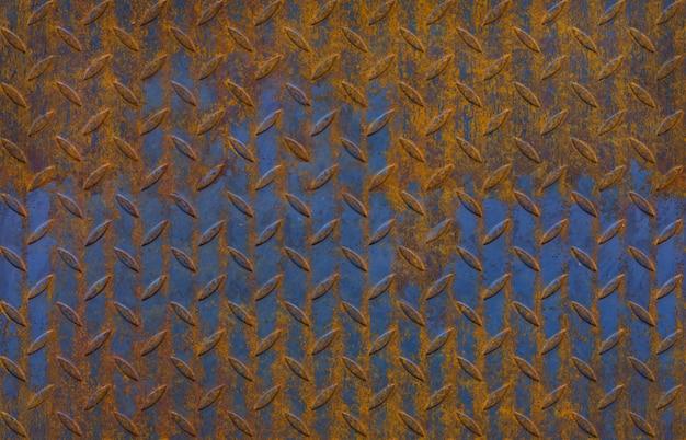 ブラックダイヤモンドの金属板、無限パターンのテクスチャ