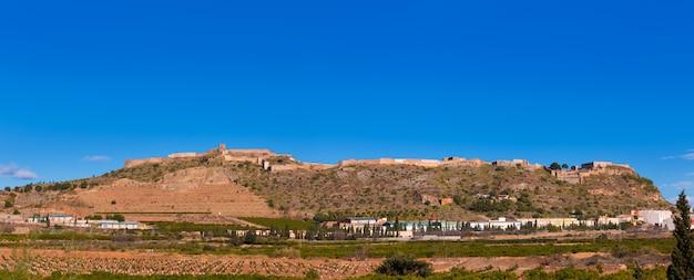 Замок сагунто в кальдероне сьерра валенсии испания