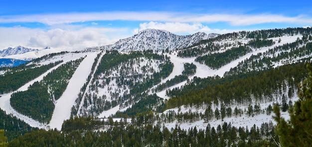 Пал горнолыжный курорт в андорре пиренеи
