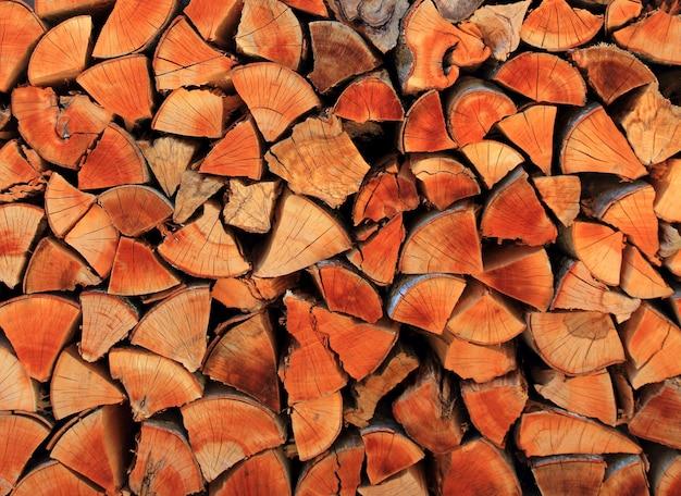 薪ウッドパイル積み上げ三角形