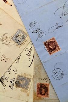 スペインからの匿名の手書きの本物の古い手紙
